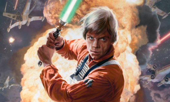 Luke Skywalker expanded universe