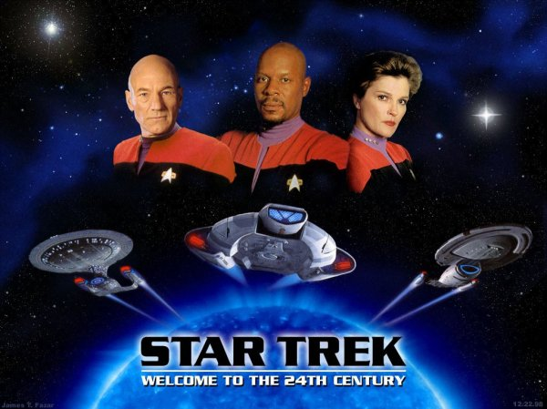 Star Trek Welcome to the 24th Century